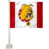 Ferris State Bulldogs FSU Car Flag