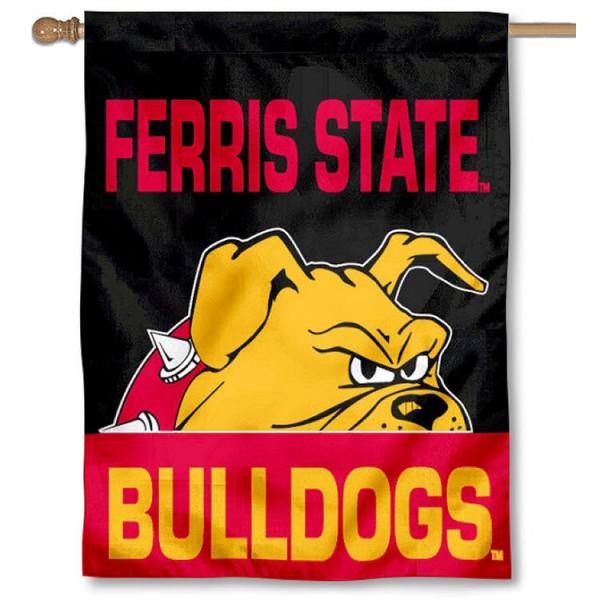 Ferris State Bulldogs House Flag