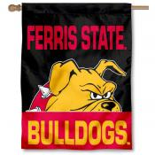 Ferris State Bulldogs House Flag