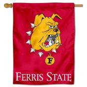 Ferris State Bulldogs Polyester House Flag