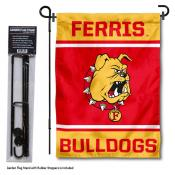 Ferris State University Garden Flag and Yard Pole Holder Set