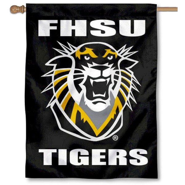 FHSU Tigers House Flag