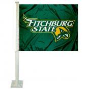 Fitchburg Falcons Car Flag