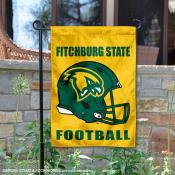 Fitchburg Falcons Football Garden Flag