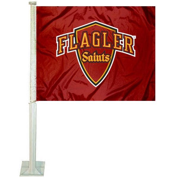Flagler College Saints Car Flag