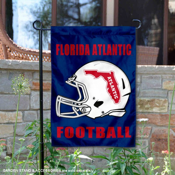 Florida Atlantic Owls Football Garden Flag