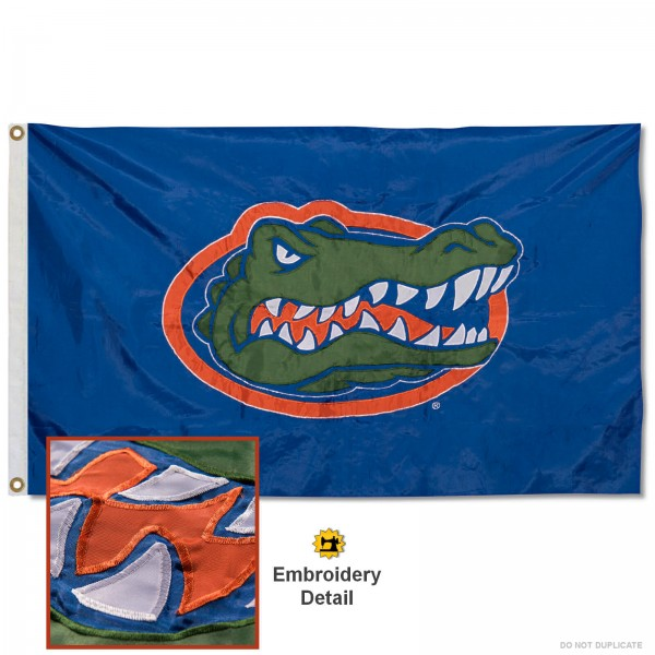 Florida Gators Appliqued Nylon Flag