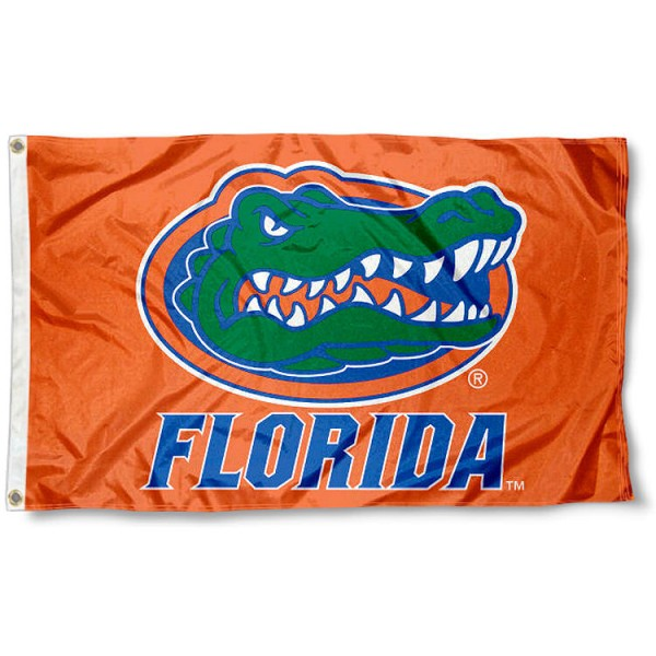 Florida Gators Flag - Orange