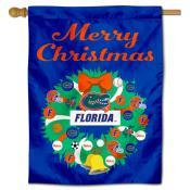 Florida Gators Holiday House Flag