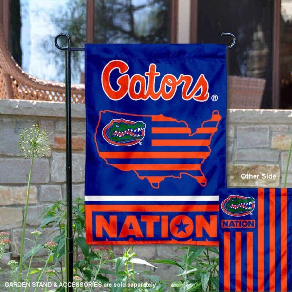 Florida Gators Nation Garden Flag