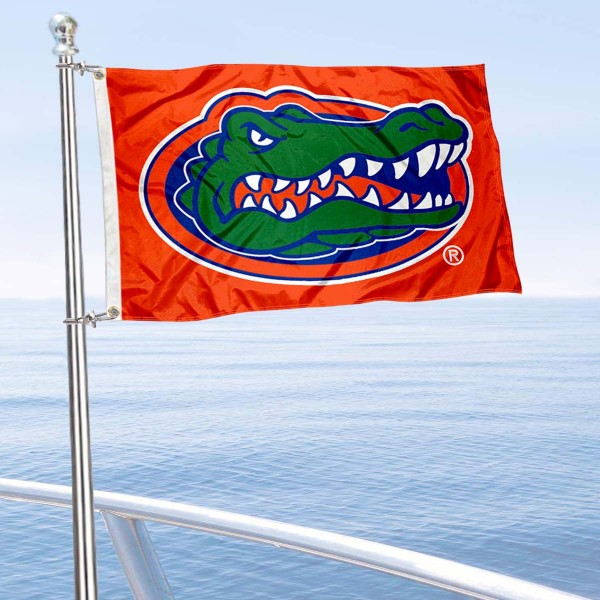 Florida Gators Orange Nautical and Golf Cart Flag