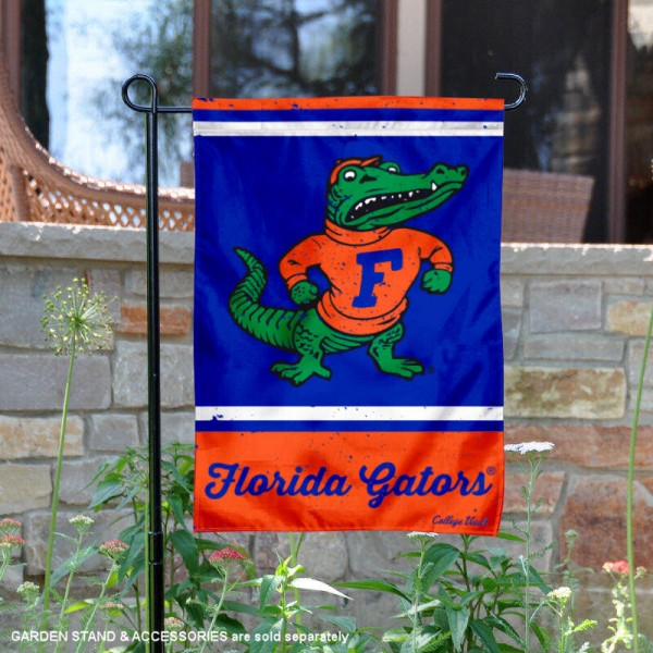 Florida Gators Retro Throwback Garden Banner