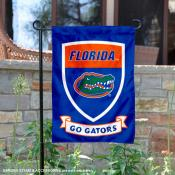 Florida Gators Shield Garden Banner