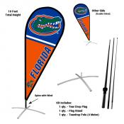 Florida Gators Teardrop Flag and Stand Kit