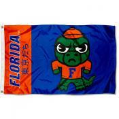 Florida Gators Tokyodachi Cartoon Mascot Flag