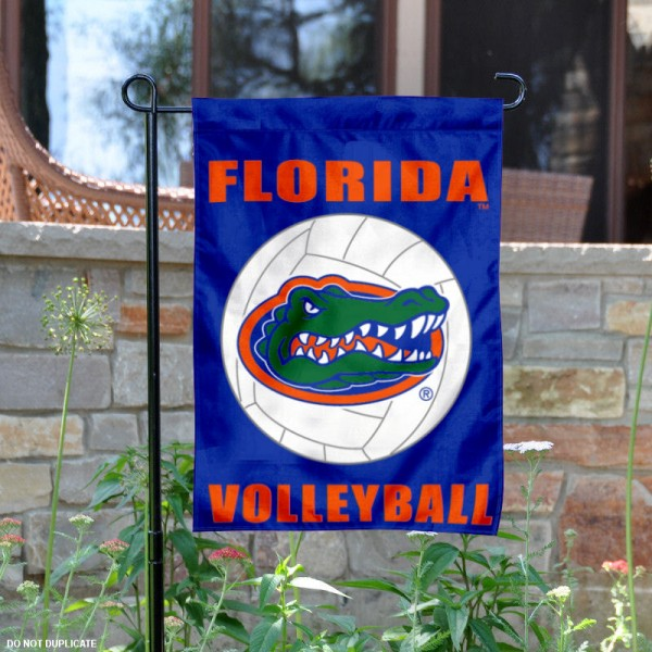 Florida Gators Volleyball Garden Flag