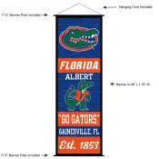 Florida Gators Wall Banner and Door Scroll