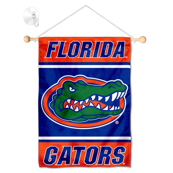 Florida Gators Window Hanging Banner with Suction Cup