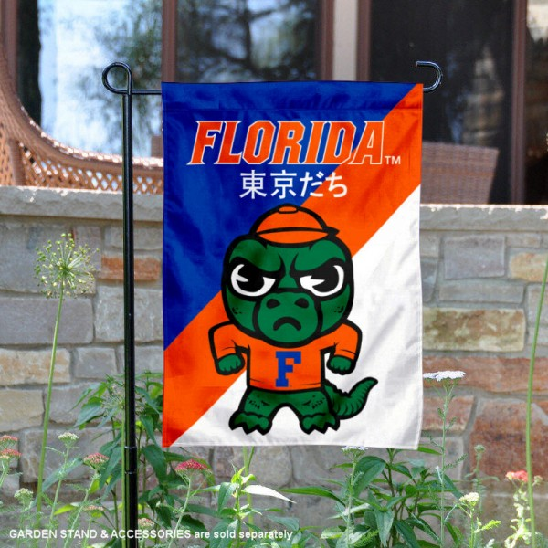 Florida Gators Yuru Chara Tokyo Dachi Garden Flag