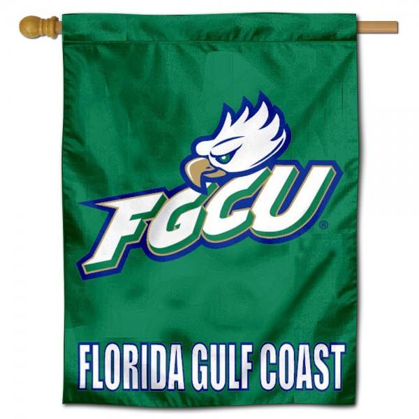 Florida Gulf FGCU Coast Eagles House Flag