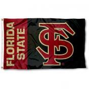 Florida State FS Logo Flag