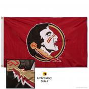Florida State Seminoles Appliqued Nylon Flag