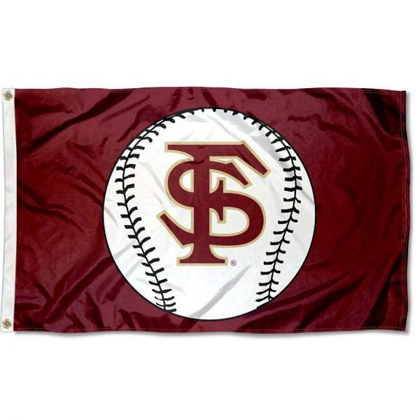 Florida State Seminoles Baseball Flag
