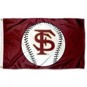 Florida State Seminoles Baseball Flag
