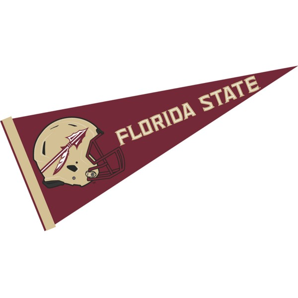 Florida State Seminoles Football Helmet Pennant