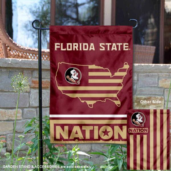 Florida State Seminoles Nation Garden Flag