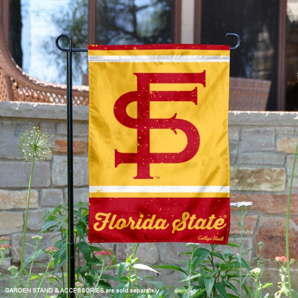 Florida State Seminoles Retro Throwback Garden Banner