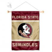 Florida State Seminoles Window Hanging Banner with Suction Cup