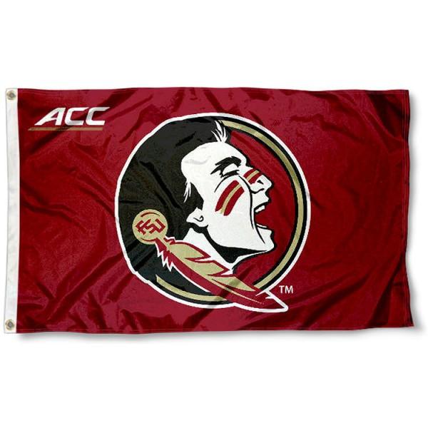Florida State University ACC Flag