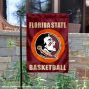 Florida State University Basketball Garden Flag