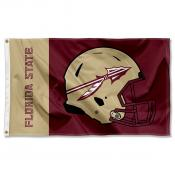 Florida State University Helmet Flag