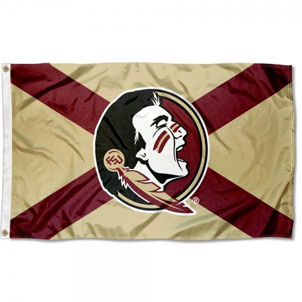 Florida State University State of Florida Flag