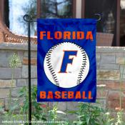 Florida UF Gators Baseball Garden Flag