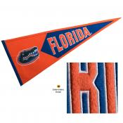 Florida UF Gators Embroidered Wool Pennant