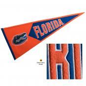 Florida UF Gators Embroidered Wool Pennant