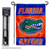 Florida UF Gators Garden Flag and Holder