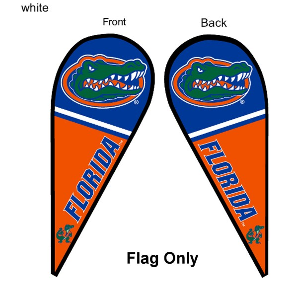 Florida UF Gators Teardrop Flag