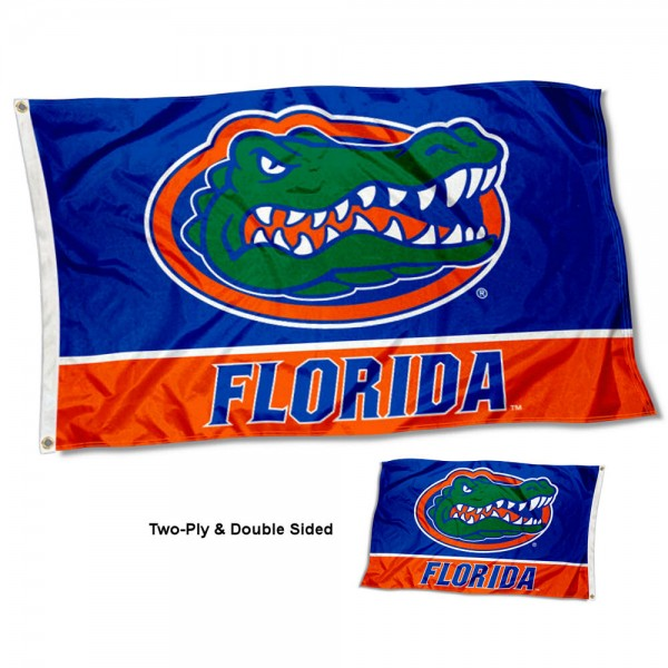 Florida UF Gators Two Sided 3x5 Foot Flag