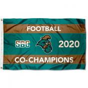 Football 2020 Conference Champions CCU Chanticleers 3x5 Foot Flag