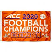 Football 2020 Conference Champions Clemson 3x5 Foot Flag