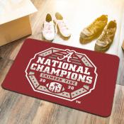 Football National Champions Floor Mat for University of Alabama