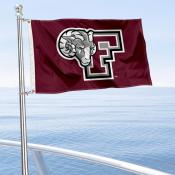 Fordham Rams Boat Nautical Flag