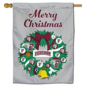 Fordham Rams Christmas Holiday House Flag