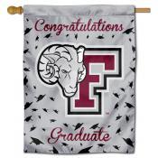 Fordham Rams Graduation Banner