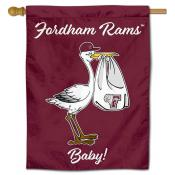 Fordham Rams New Baby Banner