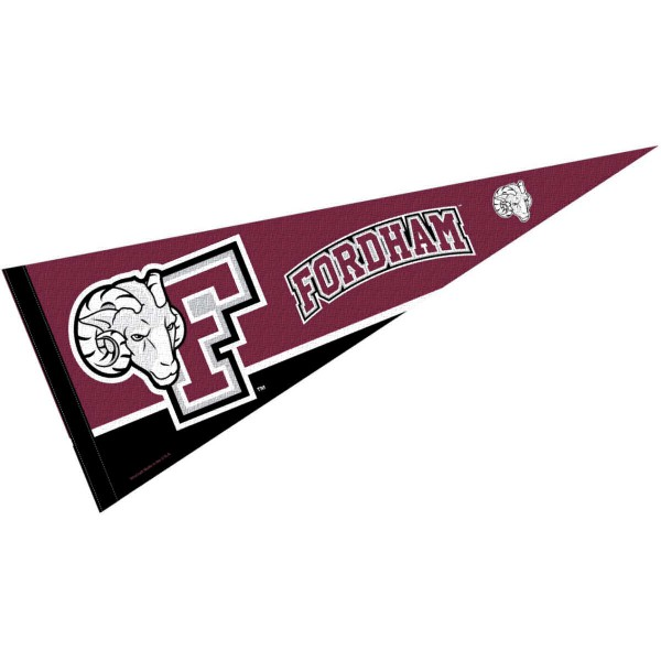 Fordham Rams Pennant